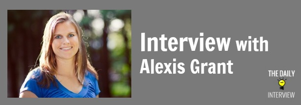 "A ""New"" Site with 45K Monthly Visitors & More with Alexis Grant [TDI028]"