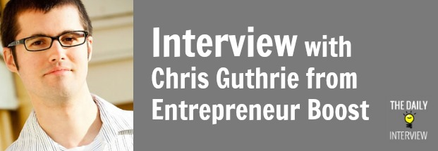 $86,401.31 in One Month (And More) with Chris Guthrie from Entrepreneur Boost [TDI009]