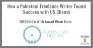 How a Pakistani Freelance Writer Found Success with US Clients with Jawad Khan [TDI035]