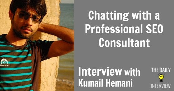 Chatting with a Professional SEO Consultant – Kumail Hemani [TDI045]