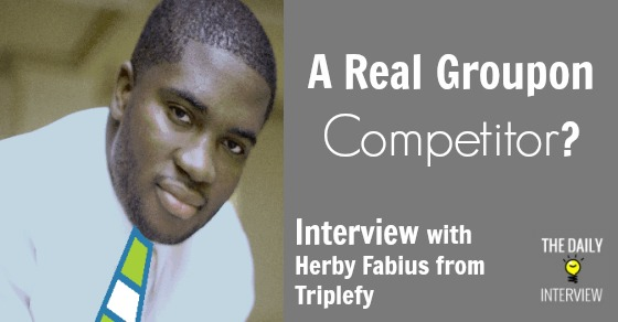 A Real Groupon Competitor? Interview with Herby Fabius from Triplefy [TDI071]