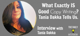 What Exactly IS Good Copy Writing? Tania Dakka Tells Us. [TDI099]