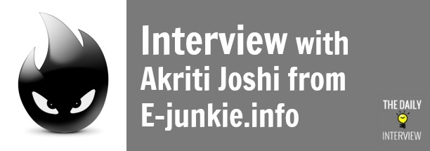 Managing the Blog of E-junkie (A Major E-Commerce Site) with Akriti Joshi [TDI023]