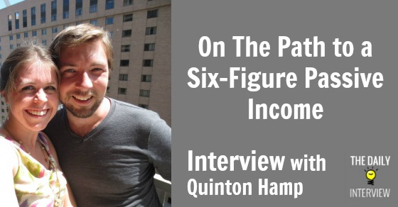 On The Path to a Six-Figure Passive Income with Quinton Hamp [TDI031]