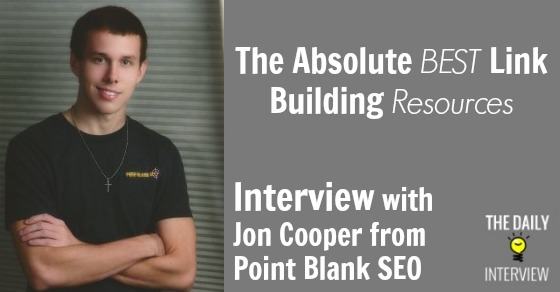 The Absolute BEST Link Building Resources with Jon Cooper from Point Blank SEO [TDI048]