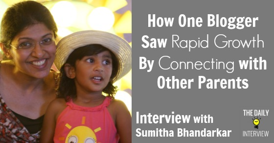 How One Blogger Saw Rapid Growth By Connecting with Other Parents